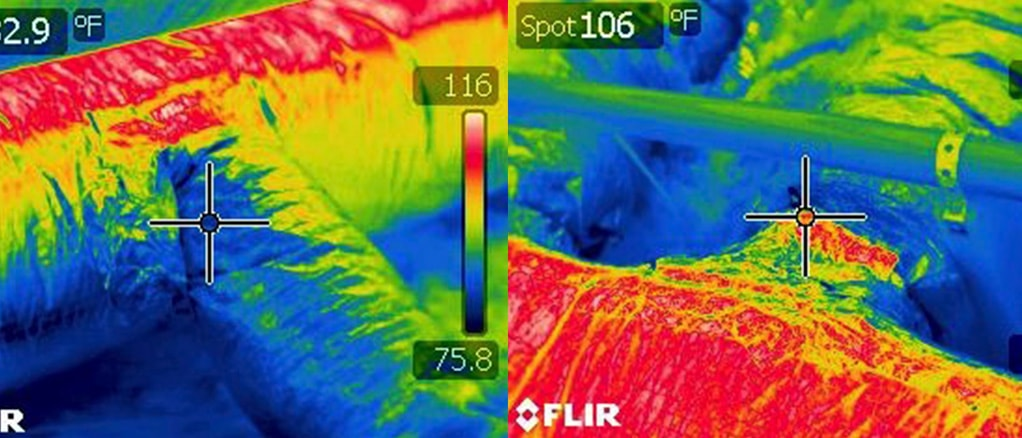 home performance indicators hot and cold rooms