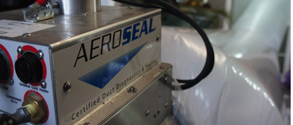 Aeroseal connected to ducts