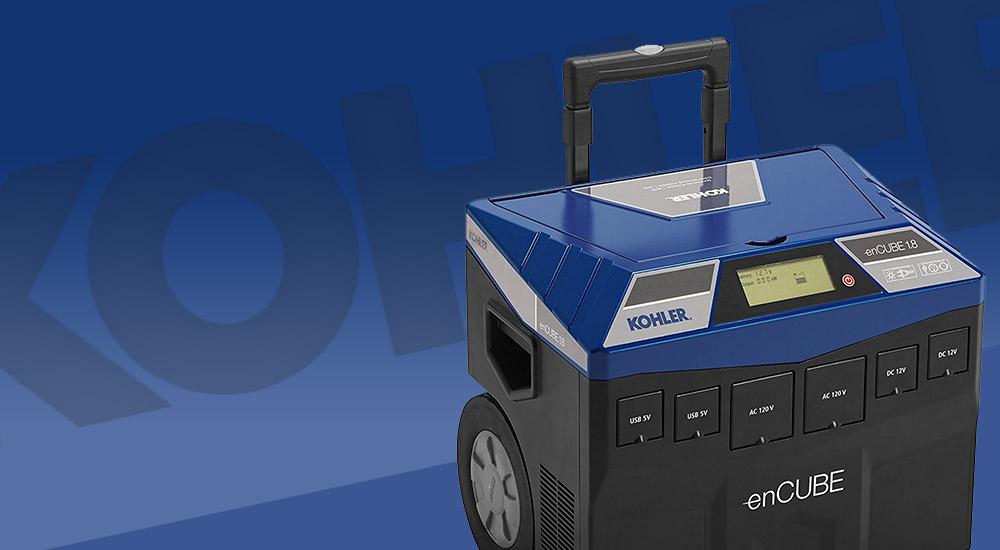 Kohler enCube portable generator image