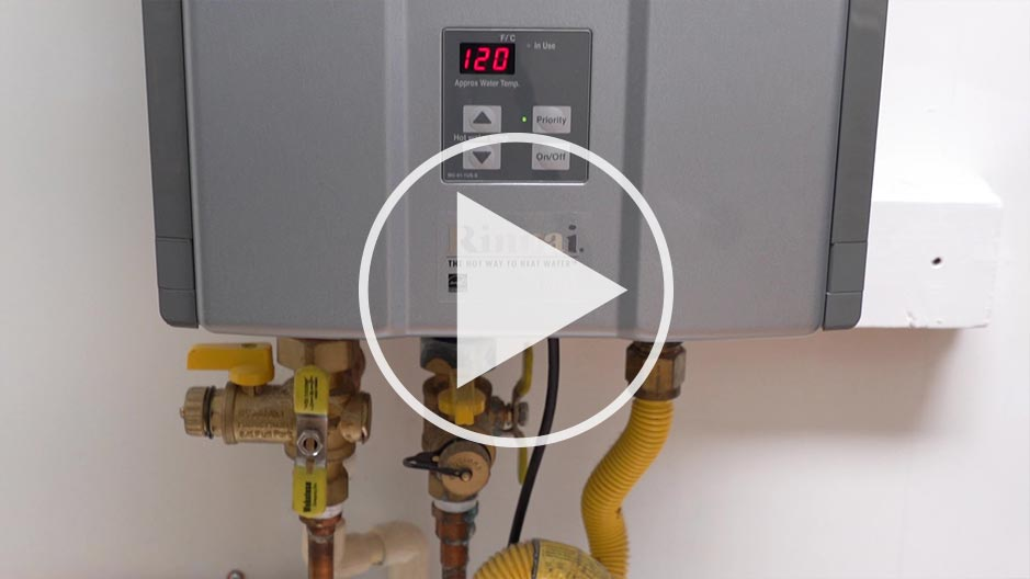 Richmond tankless water heater video thumbnail
