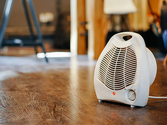 electrical safety for winter indoor heater
