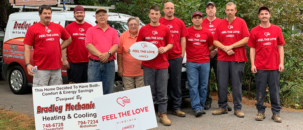 Bradley Mechanical and Lennox - Feel The Love 2019