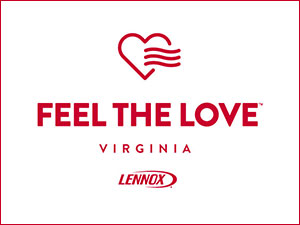 FEEL THE LOVE VIRGINIA LENNOX Logo