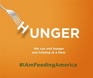 hunger I am feeding America image