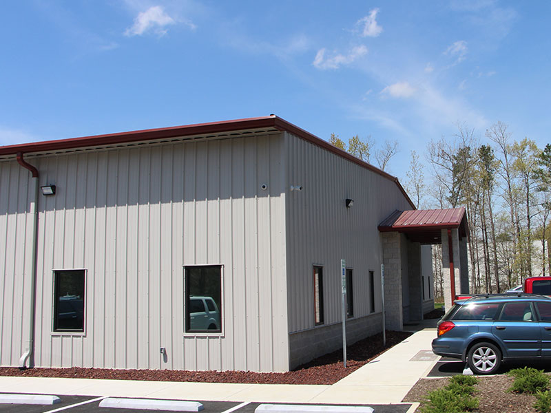 Bradley Mechanical Corporate Office Front Side