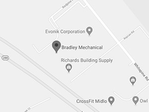 Bradley Mechanical Google Map Overhead View
